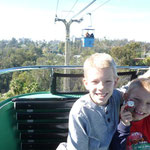 San Diego Zoo - riding the tram