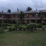 This is the YWAM courtyard