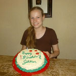 Jillian's birthday cake
