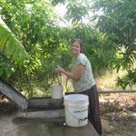 Fetching water in Maiduguri