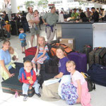 Have you ever checked in 18 bags at the airport while trying to manage 5 kids?