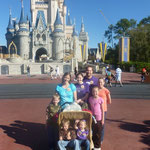 Disney World! Someone blessed us with tickets for there...