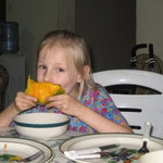 We all like eating mangos.  But they are messy.