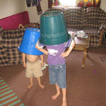 Bucket head boys