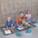Doing school in Maiduguri