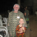 In Gboko: Elijah made good friends with Mickey, a Scottish pastor who came for the missions convention.
