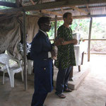 Outreach in the South: visiting and preaching at a church in a rural village