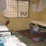 Hannah's & Elijah's room after beds (but still no curtains)