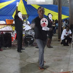 A drama that our students performed at a local church