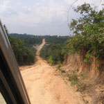 Outreach in the South: the road to a remote village