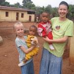 Uzomah's twins, Esther and Ruth, like Hannah and Jillian