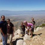 Joshua Tree National Park. The San Andres Fault is visible from where we are standing in this picture.