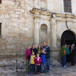 At the Alamo with the Cotsworths