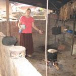 The Kitchen in the village