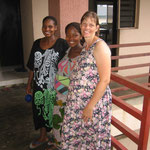 Cindy is in a race with 2 YWAM staff from Jos to see who delivers first