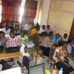 Eric's Class in Jos