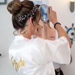 Brautstyling, Brautfrisur & Braut Make-Up - mobiler Brautservice in Koblenz, Mülheim-Kärlich, Neuwied, Andernach, Mayen, Montabaur