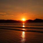 wer früh aus den Federn kommt, wird mit diesem tollen Sonnenaufgang belohnt