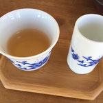 小さな薬草市場 台湾茶
