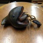 クジラの飾り 長い所24cm  輪部径10cm