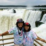アルゼンチン(世界三大瀑布イグアスの滝)
