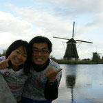 オランダ(世界遺産の風車群)