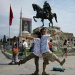 アルバニア(国旗)