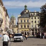 Lemberg - rund ums Rathaus
