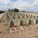 Gräber der russischen Soldaten
