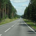 Die Straßen Litauens-Überraschung