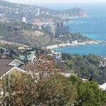 Blick zurück auf Jalta
