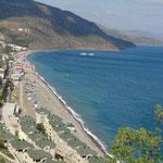 die Küste vor Jalta