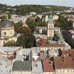 Lemberg-Blick v.Rathausturm