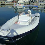 Vista general de la embarcación