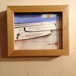 タイトル「ハープの音色に」原画サイズ 10×8cm sold out