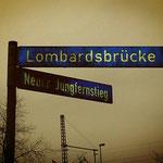 an der Lombardsbrücke