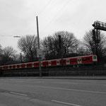 Die S- Bahn fährt