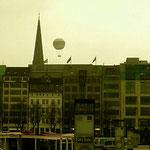 Ballon über Hamburg