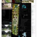 """concorso di idee per Stradella (PV) - progetto """"Note di Natura"""""""
