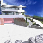 Idea di massima per lo spazio esterno di un'abitazione privata
