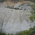 """""""Drappi"""" di argilla sulla strada per Sasso di Castalda (Pz)"""
