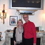Kristene A. Doyle und Dieter Schwartz in New York