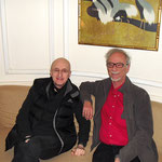 Windy Dryden und Dieter Schwartz in New York