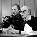 Albert Ellis und Dieter Schwartz in Würzburg