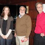 Franziska Schwartz, Raymond DiGiuseppe und Dieter Schwartz in New York