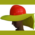 Snap Brim for Safety Helmet
