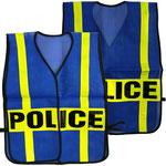 Model #9702 Police Vest with PVC Refleective Straps