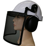 3-Pc Kit of Timber Jack: #108 ABS Safety Helmet + #406 Earmuff + #203M Mesh Face Shield