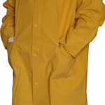 Series #7740 Industrial Long Rain-Coat (PVC/Polyester/PVC)
