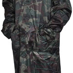Model #7815 Camouflage Long Rain-Coat (170T Polyester/PVC)